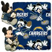 """Northwest NFL San Diego Chargers 50"""" Mickey Throws"""