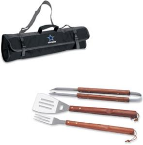 Picnic Time NFL Dallas Cowboys BBQ Set w/Tote