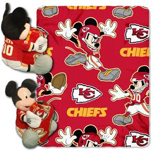 "Northwest NFL Kansas City Chiefs 50"" Mickey Throws"