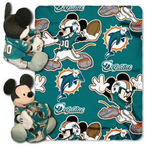 "Northwest NFL Miami Dolphins 50"" Mickey Throws"