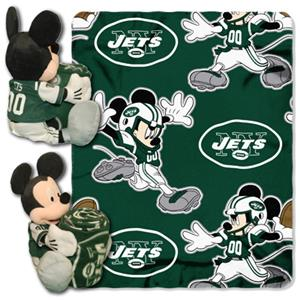 Northwest NFL New York Jets 50&quot; Mickey Throws