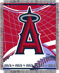 "Northwest MLB LA Angels 48""x60"" Triple Woven Throw"