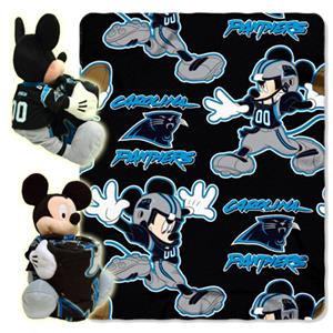"Northwest NFL Carolina Panthers 50"" Mickey Throws"
