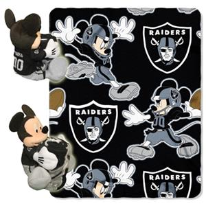 "Northwest NFL Oakland Raiders 50"" Mickey Throws"