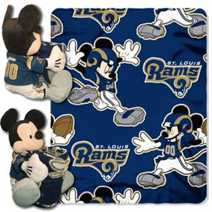 "Northwest NFL St. Louis Rams 50"" Mickey Throws"