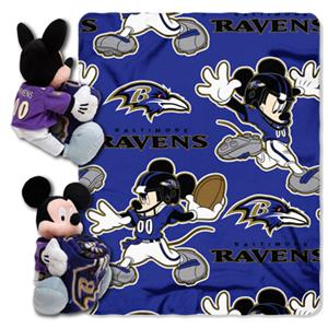 "Northwest NFL Baltimore Ravens 50"" Mickey Throws"
