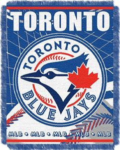 "Northwest MLB Blue Jays 48""x60"" Triple Woven Throw"