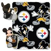 "Northwest NFL Pittsburgh Steelers 50"" Mickey Throw"