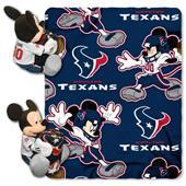 "Northwest NFL Houston Texans 50"" Mickey Throws"