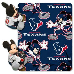 "Northwest NFL Houston Texans 50"" Mickey Throws"