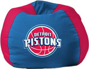 Northwest NBA Detroit Pistons Cotton Duck Bean Bag