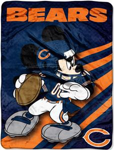 "Northwest NFL Chicago Bears 60"" Mickey Throws"