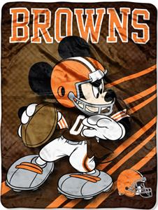 "Northwest NFL Cleveland Browns 60"" Mickey Throws"