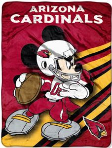 "Northwest NFL Arizona Cardinals 60"" Mickey Throws"