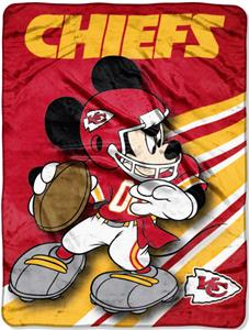 "Northwest NFL Kansas City Chiefs 60"" Mickey Throws"