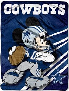 "Northwest NFL Dallas Cowboys 60"" Mickey Throws"
