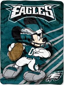 "Northwest NFL Philadelphia Eagles 60"" Mickey Throw"