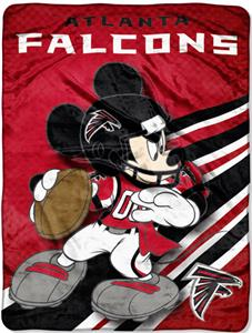 "Northwest NFL Atlanta Falcons 60"" Mickey Throws"
