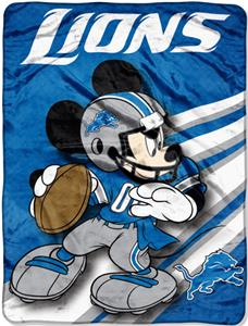 "Northwest NFL Detroit Lions 60"" Mickey Throws"