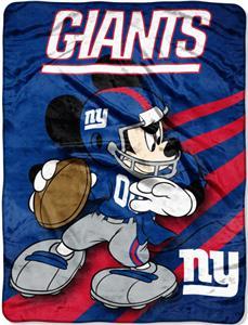"Northwest NFL New York Giants 60"" Mickey Throws"