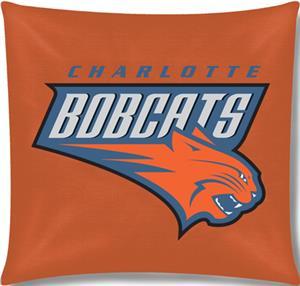 """Northwest NBA Charlotte Bobcats 18"""" Toss Pillow"""