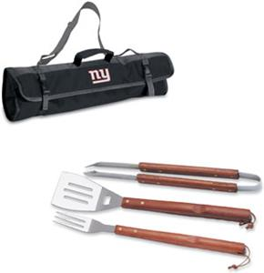 Picnic Time NFL New York Giants BBQ Set w/Tote