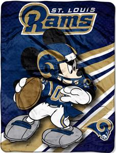 "Northwest NFL St. Louis Rams 60"" Mickey Throws"