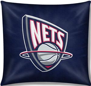 "Northwest NBA New Jersey Nets 18"" Toss Pillow"