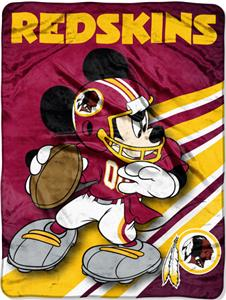 "Northwest NFL Washington Redskins 60"" Mickey Throw"