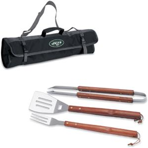 Picnic Time NFL New York Jets BBQ Set w/Tote
