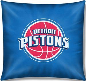 """Northwest NBA Detroit Pistons 18"""" Toss Pillow"""
