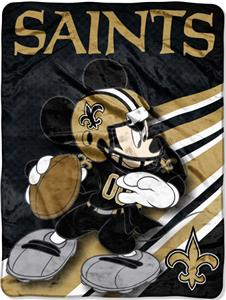 "Northwest NFL New Orleans Saints 60"" Mickey Throws"