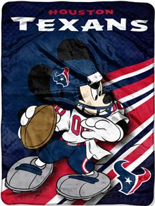"Northwest NFL Houston Texans 60"" Mickey Throws"