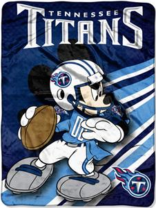 "Northwest NFL Tennessee Titans 60"" Mickey Throws"