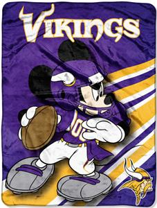 "Northwest NFL Minnesota Vikings 60"" Mickey Throws"