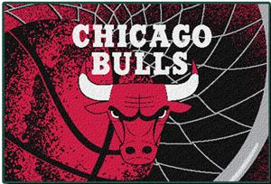 "Northwest NBA Chicago Bulls 39""x59"" Tufted Rug"