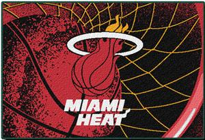 "Northwest NBA Miami Heat 39""x59"" Tufted Rug"