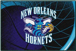 Northwest NBA New Orleans Hornets 39x59 Tufted Rug
