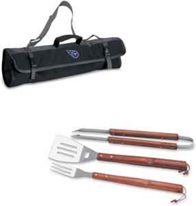 Picnic Time NFL Tennessee Titans BBQ Set w/Tote