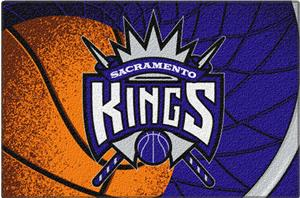 "Northwest NBA Sacramento Kings 39""x59"" Tufted Rug"