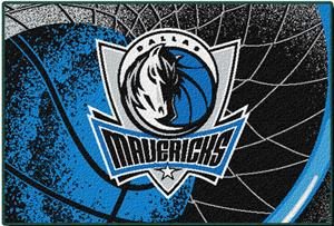 "Northwest NBA Dallas Mavericks 39""x59"" Tufted Rug"