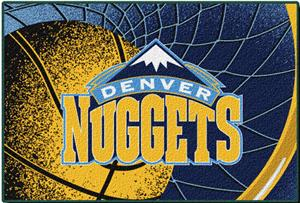 "Northwest NBA Denver Nuggets 39""x59"" Tufted Rug"