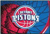 "Northwest NBA Detroit Pistons 39""x59"" Tufted Rug"