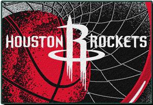 "Northwest NBA Houston Rockets 39""x59"" Tufted Rug"