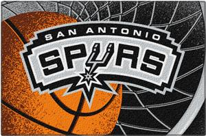 "Northwest NBA San Antonio Spurs 39""x59"" Tufted Rug"