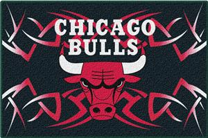 "Northwest NBA Chicago Bulls 20""x30"" Tufted Rug"