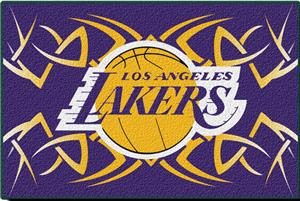 "Northwest NBA LA Lakers 20""x30"" Tufted Rug"