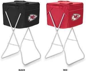 Picnic Time NFL Kansas City Chiefs Party Cube