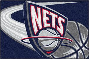 "Northwest NBA New Jersey Nets 20""x30"" Tufted Rug"