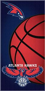 "Northwest NBA Atlanta Hawks 30""x60"" Beach Towel"